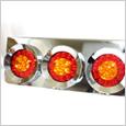 LED薄丸型3連テール